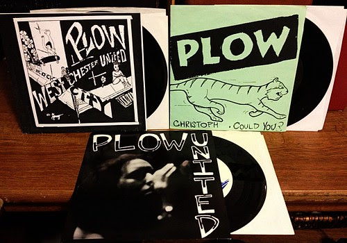 "Plow United - One 7"" & Two Split 7""s by Tim PopKid"