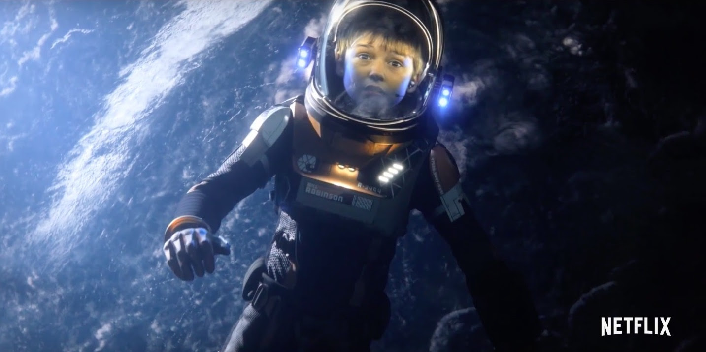 Resultado de imagem para Lost in Space NETFLIX poster