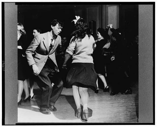 """Washington, D.C. Jitterbugs at an Elk's Club dance, the """"cleanest dance in town"""""""