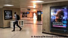 Belgien Explosion am Zentralbahnhof in Brüssel (Reuters/Twitter/@remybonnaffe)