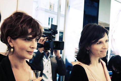Juliette Binoche et Laura Morante - Egéries Lancôme by anneso_cachemireetsoie