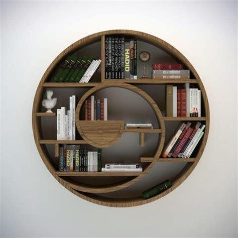 circular bookshelf  model max obj fbx cgtradercom