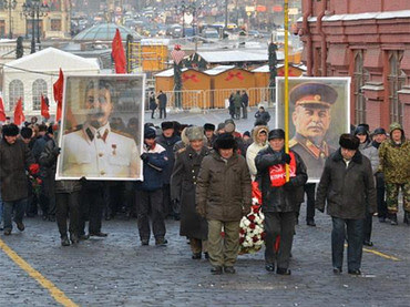 A commemoration of the 133rd anniversary of the birth of Soviet Union leader Joseph Stalin. Stalin led the country after the death of Lenin through 1953 when he died. by Pan-African News Wire File Photos