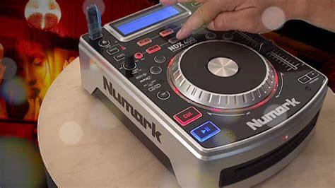 numark ndx  tabletop usb mp cd player youtube