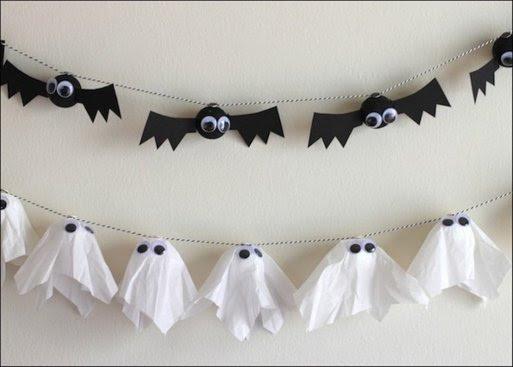 Guirnaldas DIY para Halloween