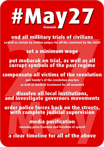 The final list of #May27 demands