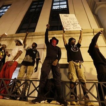 IMAGE: Charlotte, N.C., protest