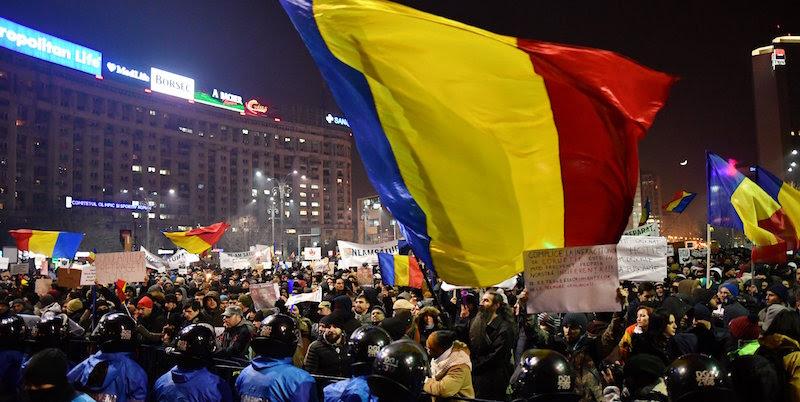 Risultati immagini per proteste romania