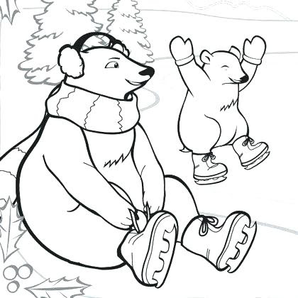 74 Top Coloring Pages Of Polar Animals Images & Pictures In HD