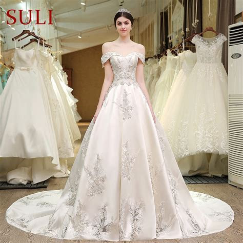 Aliexpress.com : Buy SL 83 Designer Wedding Bridal Gowns