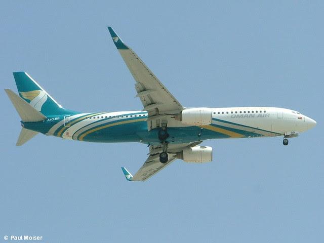 Oman Air 737 A4O-BB Cairo Airport Arrests
