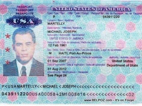 Passeports de Michel Martelly