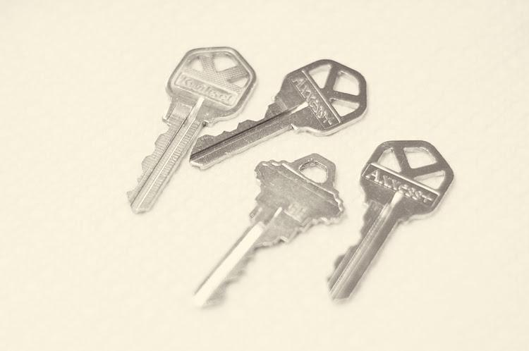 glitter keys