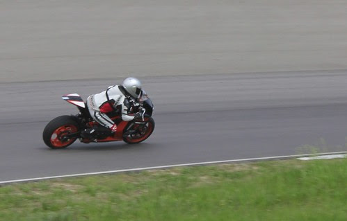 Track Day at BIR with KTM riding a RC8R