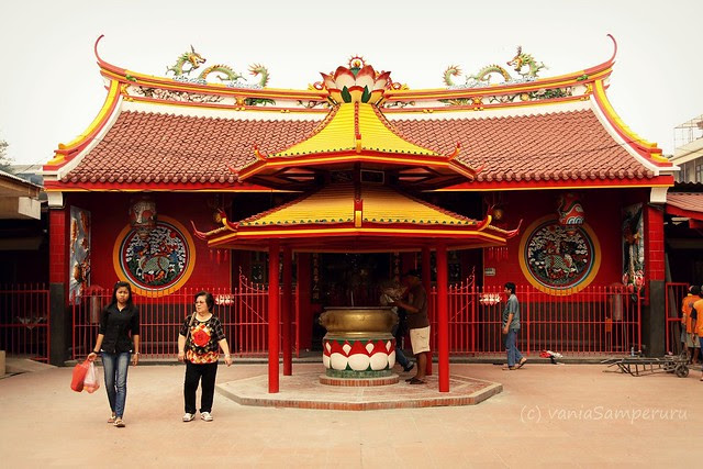Vihara Dharma Bakti, Glodok, Jakarta.