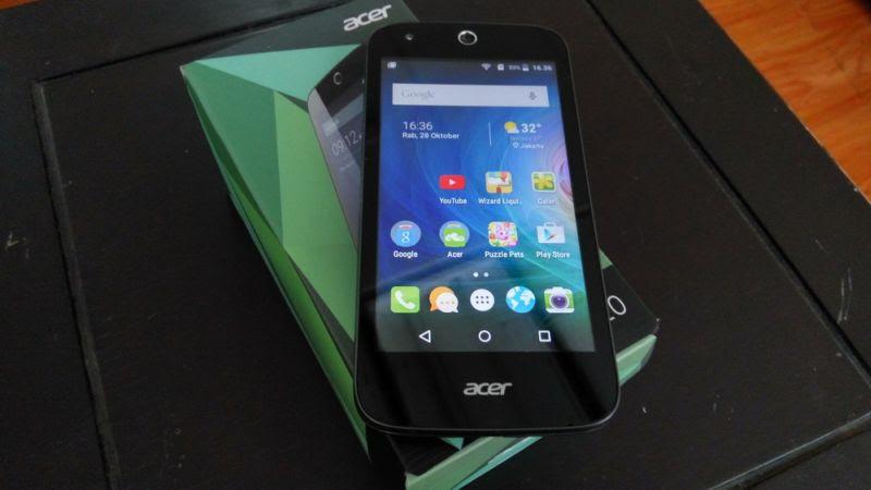 Acer Liquid Z320, Satu Ponsel Untuk Ibu dan Anak
