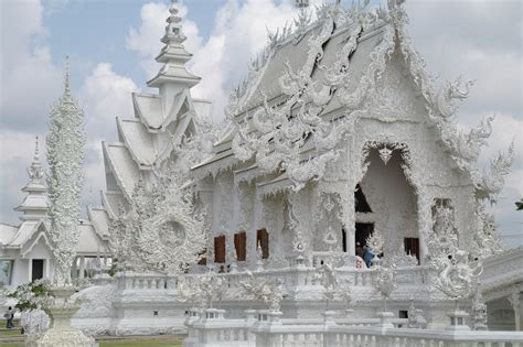 White Temple and Black House of Chiang Rai, Thailand