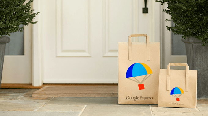 New test prominently showcases Google Express in mobile search results