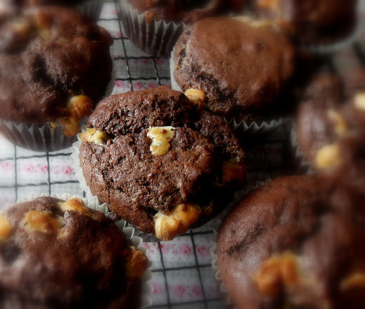 The English Kitchen Double Chocolate Muffins