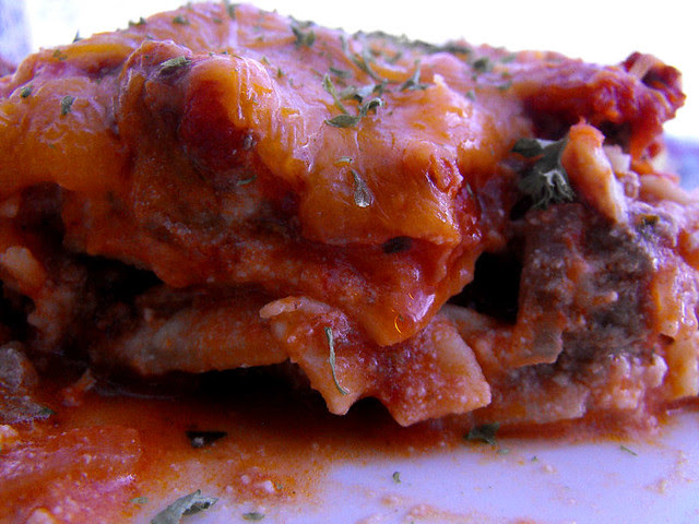 Meat Lovers Lasagna 3