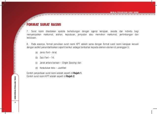 Saiz Font Surat Rasmi Liga Mx B