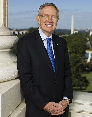 English: Harry Reid (D-NV), United States Sena...