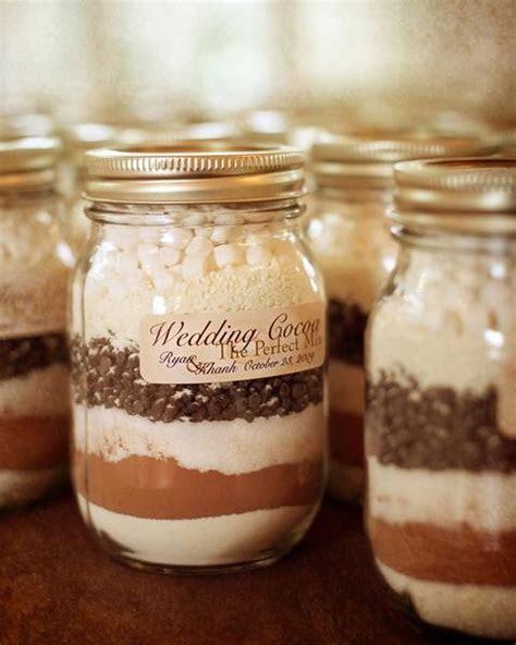 Cocoa wedding favours ideas , Fall & Winter wedding favor