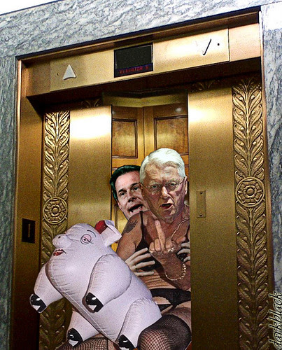 Senators Only, Take The Stairs