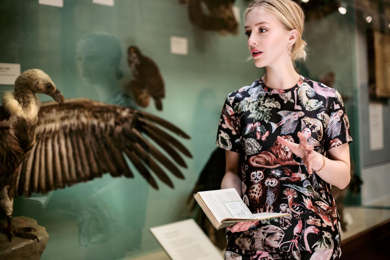 Framboise Fashion Luisaviaroma Natural History Museum