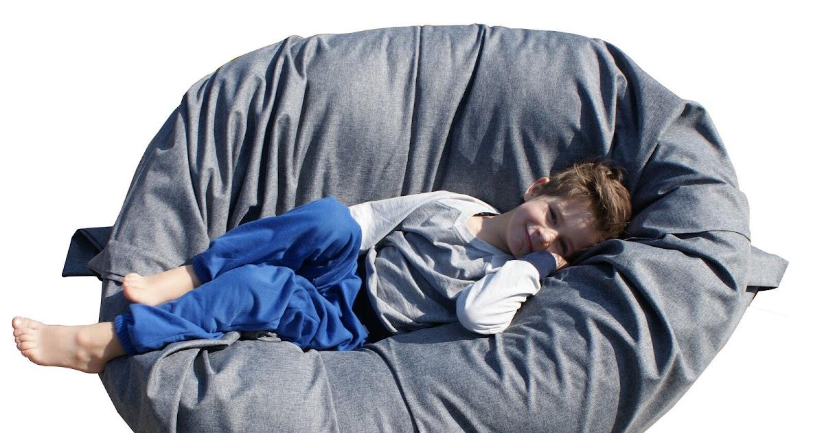 Sitzsack XXL 145x180 Sitzkissen Bodenkissen Sessel Sitting Bag ...