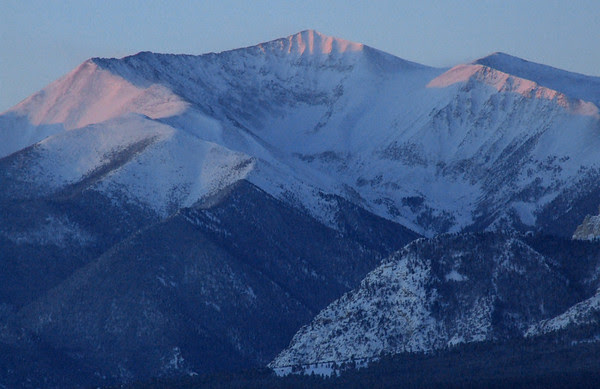 Winter Mount Antero Sunrise