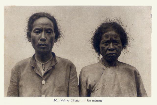Hai vợ chồng người An Nam