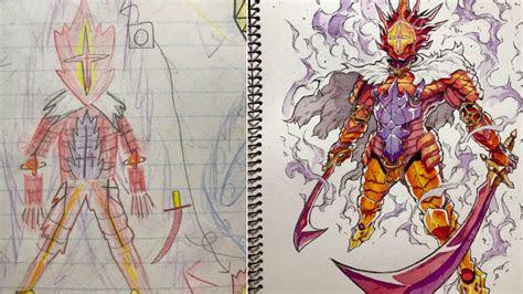 cool series  anime style fantasy art  genzoman