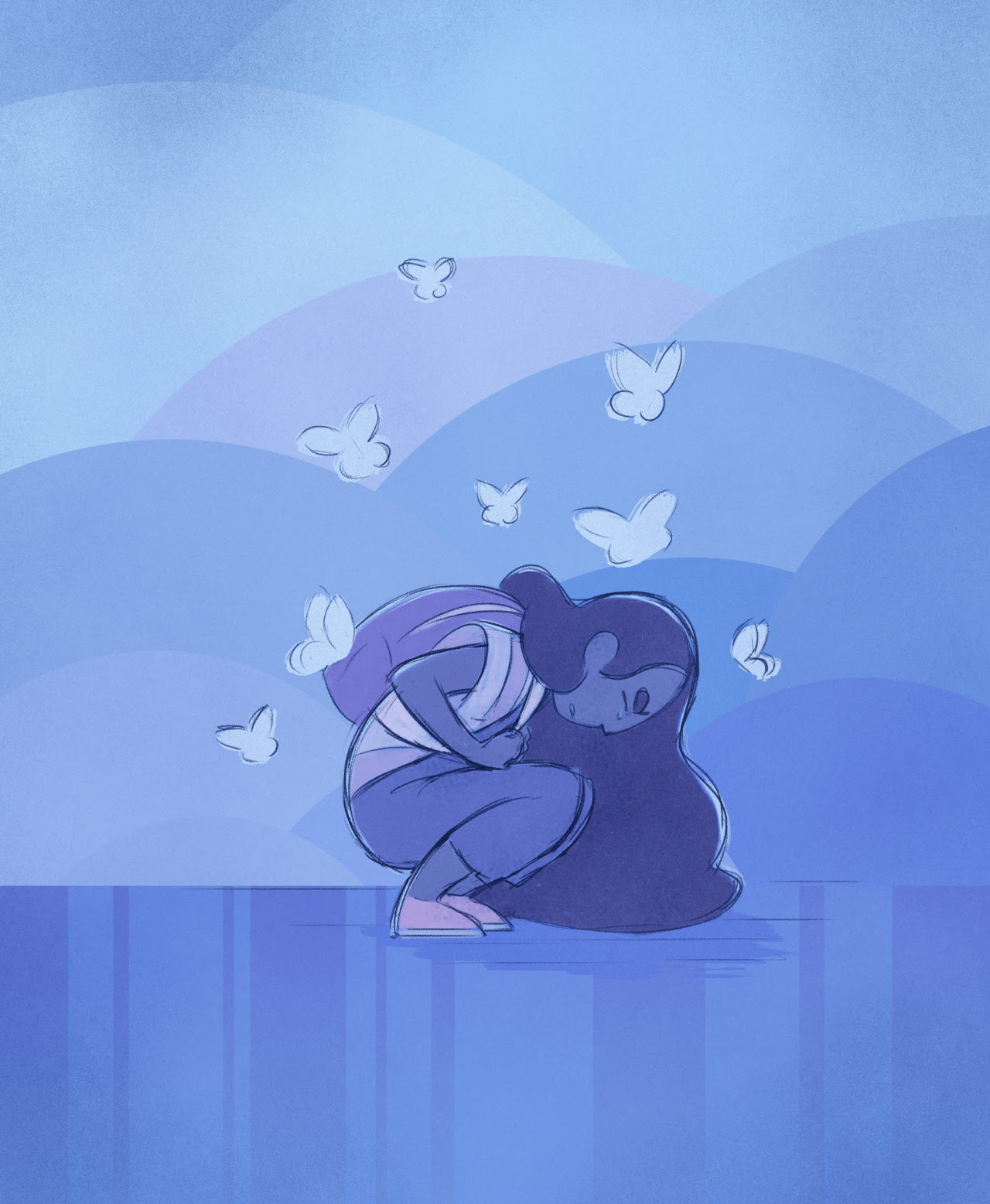 Here comes a thought~ (Just what I needed. Thank you Rebecca Sugar