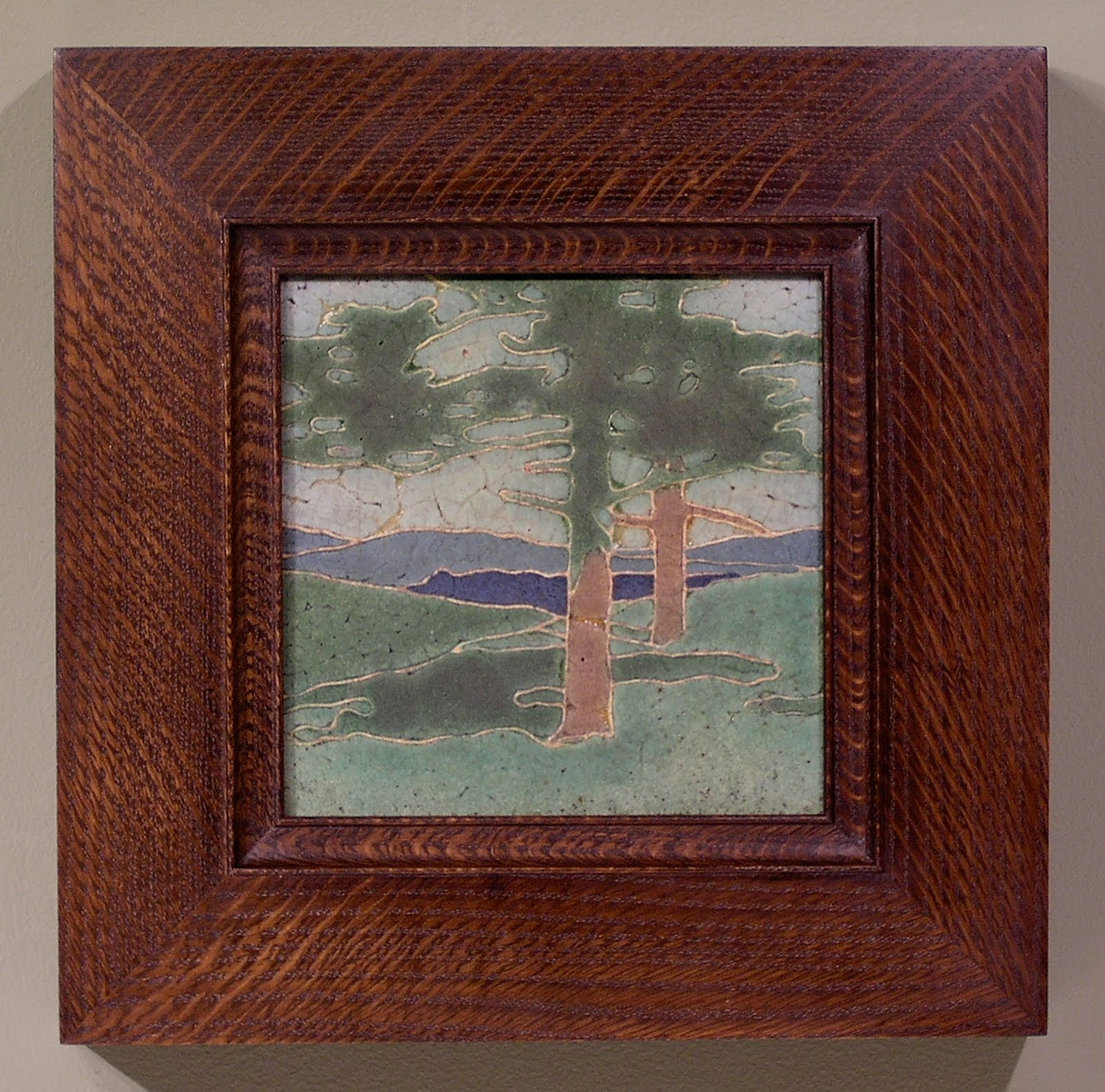 Framing Arts And Crafts Tiles Holton Studio Frame Makers