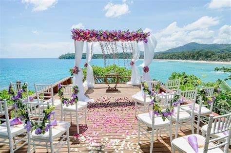 Tropical Island Wedding Thailand   The Wedding Bliss Thailand