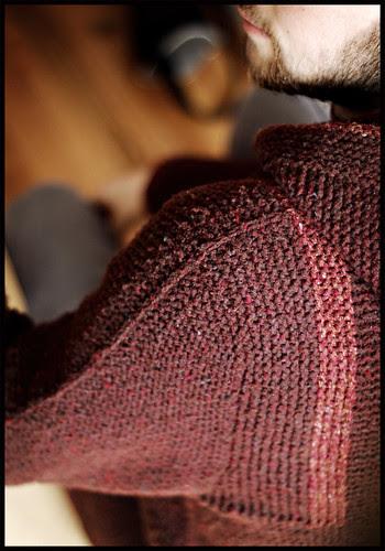 Adult Tomten Jacket - Sleeve Cap Detail