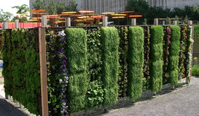 Outdoor Living Wall Planters - The Green Head