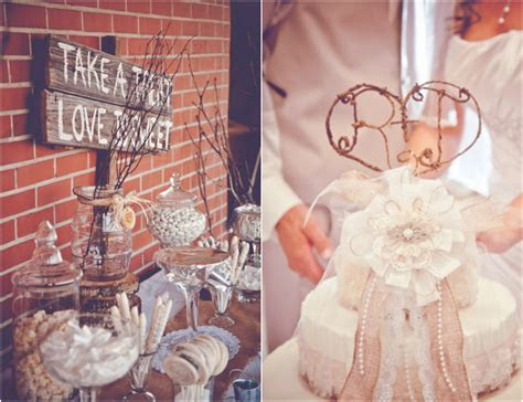Burlap Inspired Country Wedding: Trudie   Robbie   Rustic