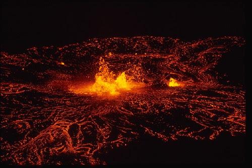 Kilauea Volcano at Mauna Ulu