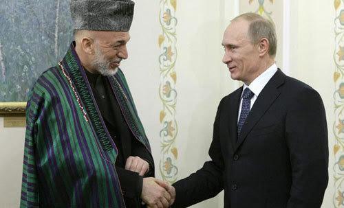 Putin, Mỹ, Nga, Afghanistan