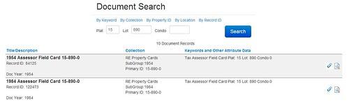 Document Search by midgefrazel