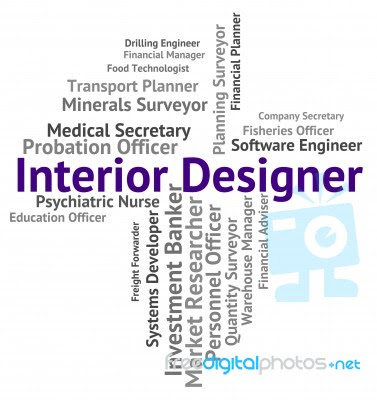 Interior Designer Shows Hire Words And Occupations Stock Image Royalty Free Image ID 100353990 - Interior Design And Lifestyle Word Cloud Concept Isolated Stock PhotoMore Pictures Of
