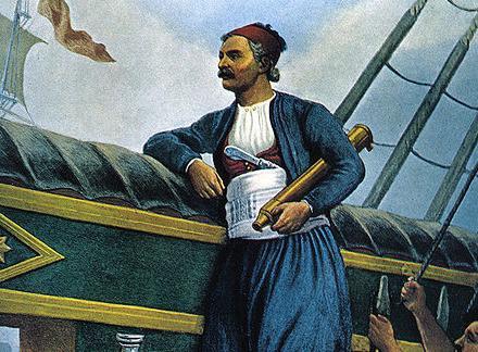 Αποτέλεσμα εικόνας για Ανδρέα Μιαούλη και τους πυρπολητές Ανδρέα Πιπίνο και Γεώργιο Πολίτη, πυρπολεί τον τουρκικό στόλο του Καπουδάν πασά στη Μεθώνη