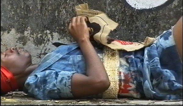 """""""Miss Congo"""", 2007, Videostills, 13:32 Min.  © Ruga"""