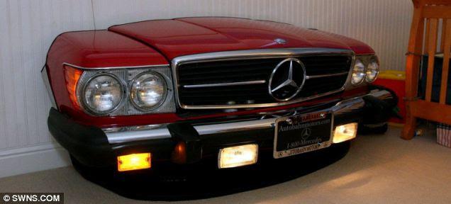 Engenharia façanha: Este 1980 Mercedes 380SL cupê é um baú de brinquedos no disfarce