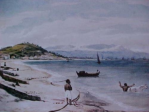 Praia da Saudade - Próximo da Urca by Botafogo Antigo