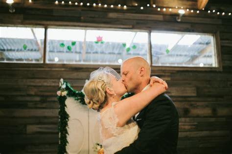 Leea and Robert's Vintage Style Barn Wedding   Polka Dot Bride