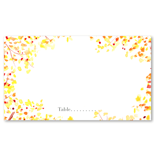 Fall Meadow - Place Card