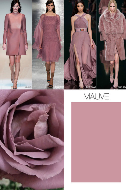 Pink is the key color trend for Fall-Winter 2015/2016